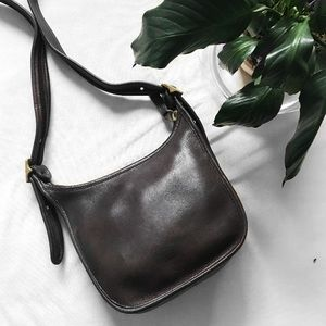 Vintage Coach Janice's Legacy Bag Dark Brown 9950